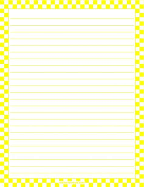 yellow writing paper 10 best images about blank writing templates on