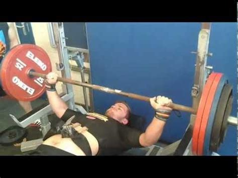 owen franks bench press owen hubbard strict bench press 200kg 440lbs youtube