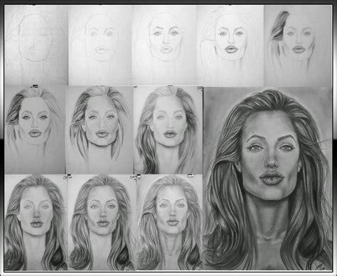 imagenes de retratos realistas retratos realistas y dibujos retrato realista de angelina