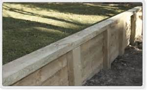 style of timber retaining wall ideas for the backyard