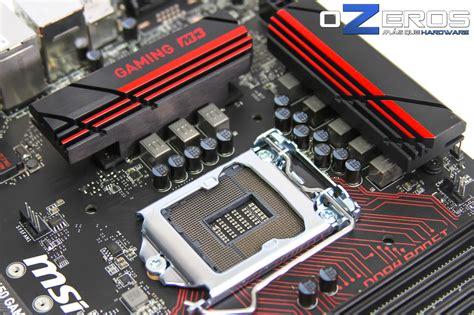Motherboard Msi B150 Gaming M3 Lga1151 review placa madre msi b150 gaming m3 una opci 243 n econ 243 mica para el gamer ozeros