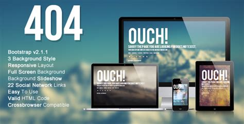 404 Not Found Html Template 50 404 not found page website templates sixthlifesixthlife