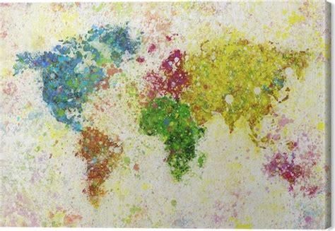 cuadros mapamundi cuadro en lienzo mapamundi pintura pixers 174 vivimos