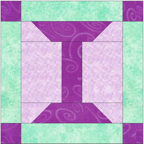 Foundation Pieced Quilt Patterns by Foundation Pieced Letter I Paper Quilting Block