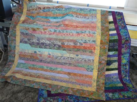 Jellyroll Race Quilt by Timber Hill Threads Jelly Roll Race Quilts