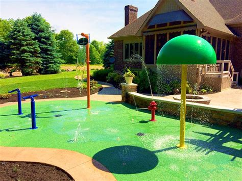25 best ideas about backyard splash pad on