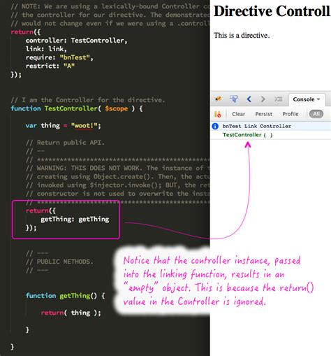 revealing module pattern javascript dan wahlin directive controllers cannot use the revealing module