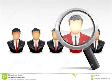 best employer search the best employee stock illustration illustration