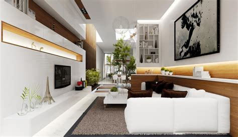 Modern French Living Room | 2 modern french living room interior design ideas