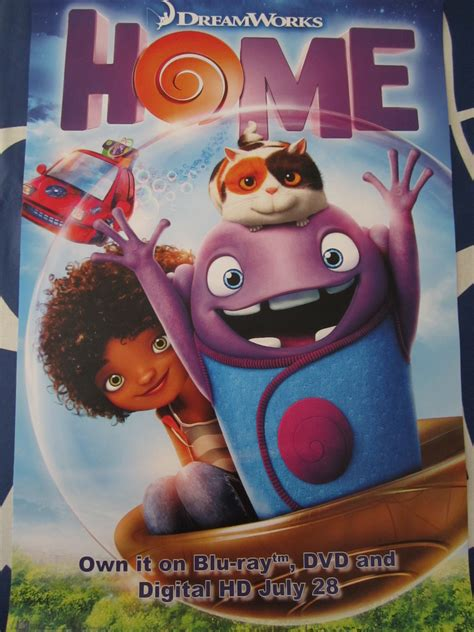 home 2015 promo dreamworks poster posters