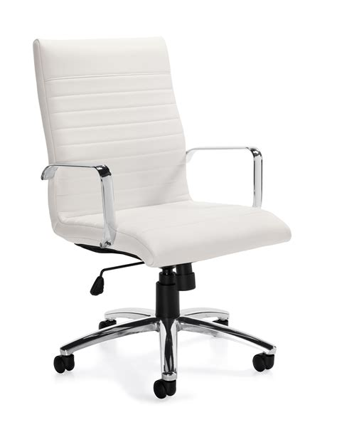 Modern Desk Chair White Sofa Wonderful Modern White Office Chairs Cd 307h 2jpg1443965409 Modern White Office Chairs