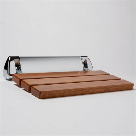 Amerec Steam Shower Seat Teak Modern Shower Benches