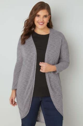 Special Cardi Basic 3tone Pink Cardigan 0109 blush pink longline cardigan with pointelle pocket cuff detail plus size 16 to 36