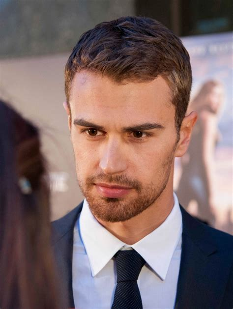 mens hair styles divergent celebrity hairstyles theo james hairstyle blonde hair