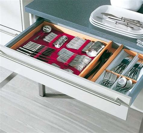 Kitchen Drawer Organization Ideas 15 Kitchen Drawer Organizers For A Clean And Clutter