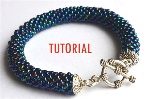 how to bead a bracelet items similar to beading tutorial crochet seed bead