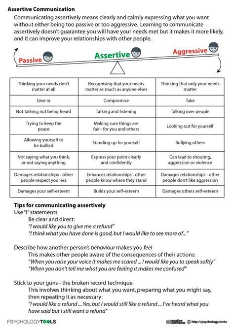 Communication Styles Worksheet by Best 25 Assertive Communication Ideas On
