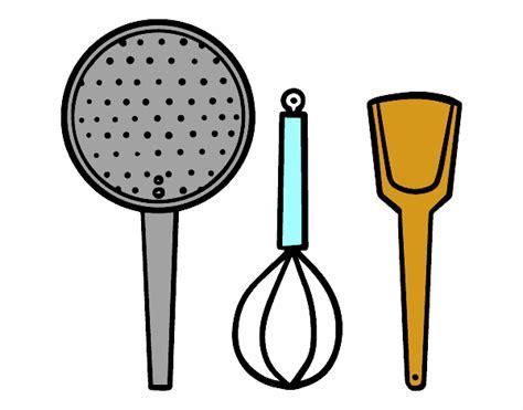 herramientas de cocina dibujo de los utensilios de cocina pintado por en dibujos