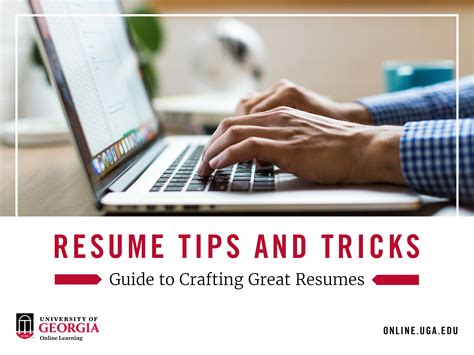 resume tips and tricks resume tips and tricks guide to crafting create resumes
