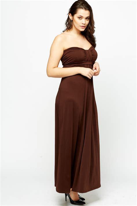 coffee maxi shoulder coffee maxi dress just 163 5