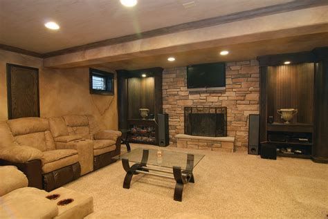finished basement ideas  cozy additional living space