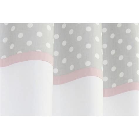 polka dot nursery curtains grey polka dot and pink nursery curtains