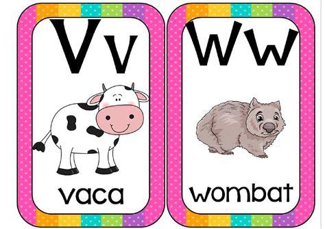 imagenes de animales por abecedario super tarjetas trabajamos las letras abecedario animales