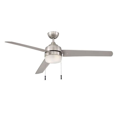 brushed nickel outdoor ceiling fan with light hton bay ceiling fans deals on 1001 blocks