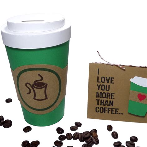Coffee Cup Gift Card Holder - coffee cup circle card pazzles craft room