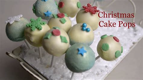 christmas cake pops decorating ideas youtube