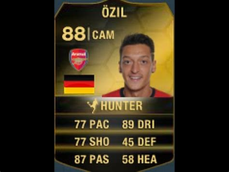 ozil hairstyle fifa 14 fifa 14 if ozil 88 player review in game stats ultimate