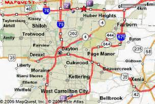 Ohio Map Google by Similiar Map Of Dayton Ohio And Surrounding Area Keywords