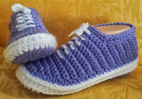 crochet slippers patterns shush s handmade stuff crochet sneakers pdf pattern