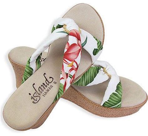 floral sandals by island slipper 100 handmade in