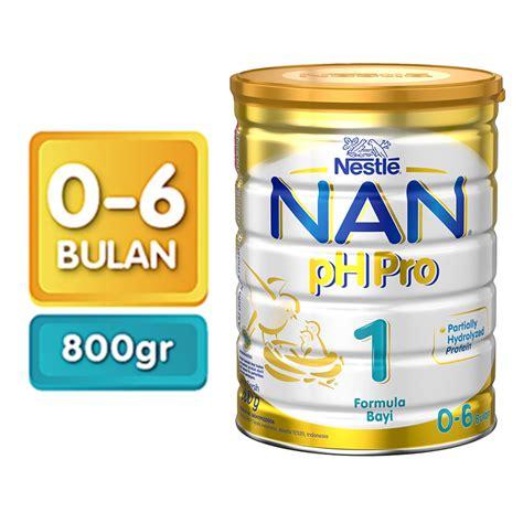 Formula Produk Nestle Jual Nestle Nan Pro 1 Formula Plain Tin 800g Jd Id