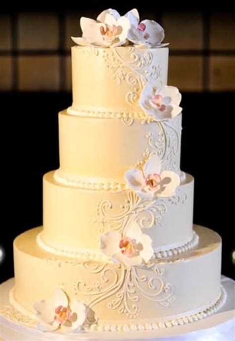 1000 images about engagement cake on sugar buttercream wedding cake with sugar orchids vow day