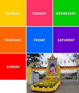 color your day with postcards from asia thailand colors of the day core77