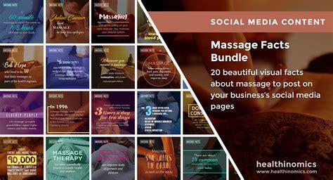 massage facts bundle healthinomics