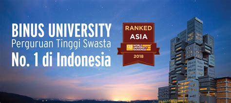 binus university  world class university