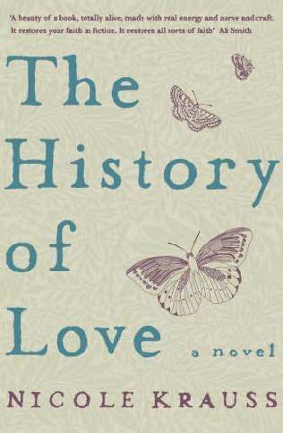 origin of the word love nicole krauss the history of love jov s book pyramid