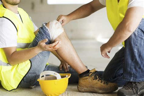 Accidents And Injuries At Work   open wound from a work related injury kansas city work comp