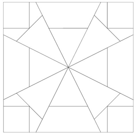 imaginesque quilt block 4 pattern and templates