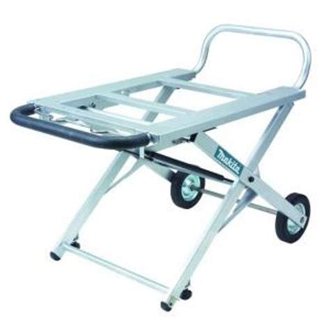 Folding Table Saw Stand Makita Portable Table Saw Stand 194093 8 The Home Depot