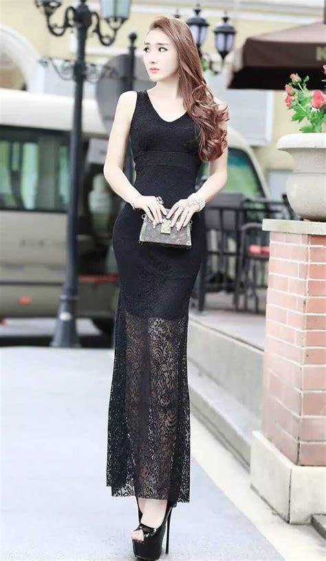 Dress Wanita Gaun Pesta Warna Hitam gaun brokat untuk pesta warna hitam tanpa lengan 39a50