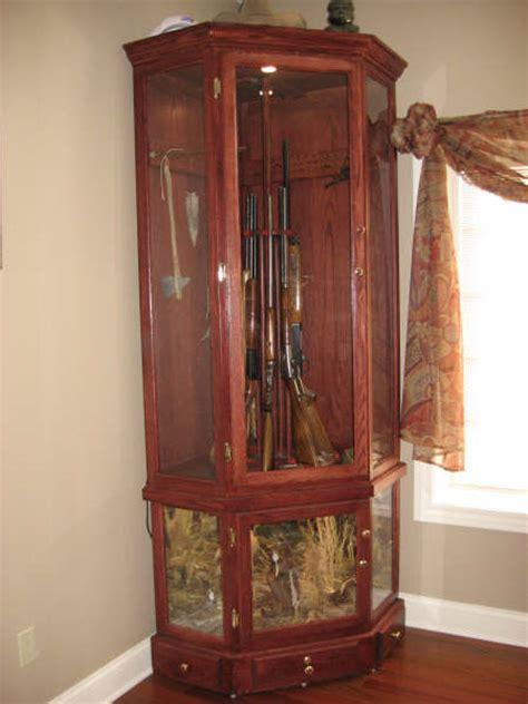 Rotating Gun Cabinet Plans