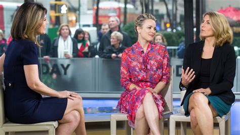 today show set rachel mcadams on the set of today show in new york 12 02