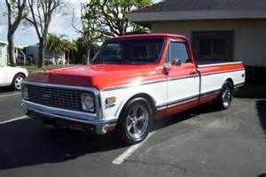 1972 Chevrolet Truck For Sale 1972 Chevy C 10 Chevrolet Chevy Trucks For Sale