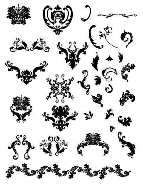vintage ornament vector pattern free calligraphic vectors design inspiration vexels blog