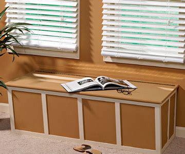 woodwork built  bench seat  storage plans  plans