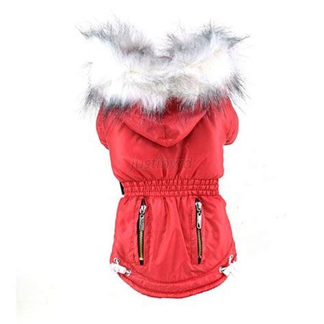 Pet Puppy Winter Cat Warm Coat Jacket Jumpsuit Hooded Clothes Appa pet puppy winter hoodie cat coat jacket jumpsuit hooded clothes apparel ebay